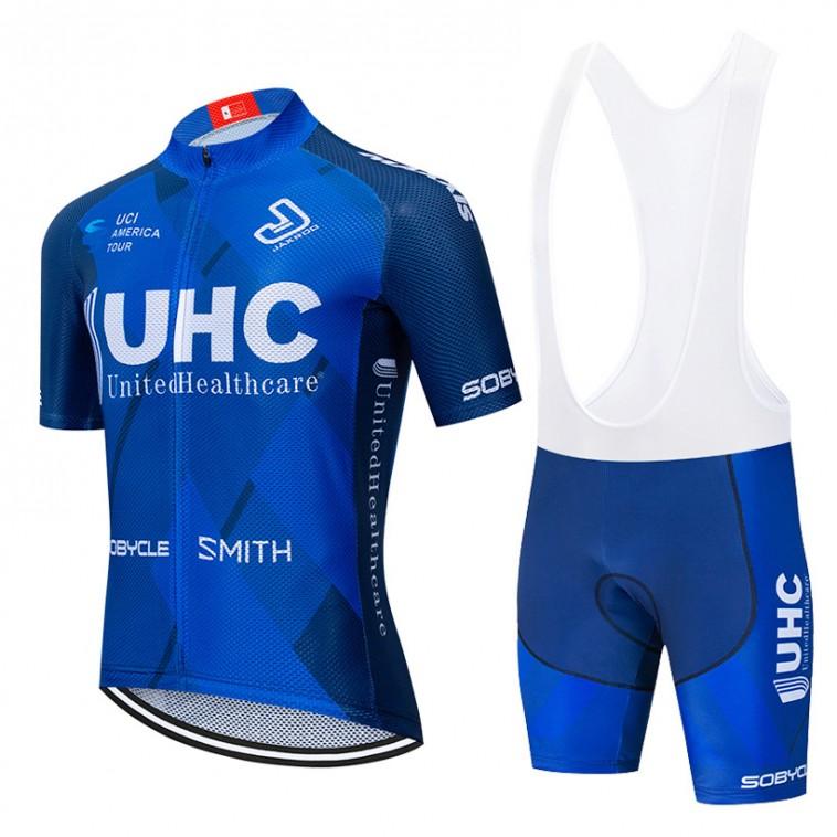 Ensemble cuissard vélo et maillot cyclisme équipe pro UHC 2020 Aero Mesh