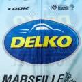 Ensemble cuissard vélo et maillot cyclisme équipe pro DELKO 2019 Aero Mesh
