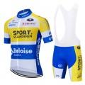Ensemble cuissard vélo et maillot cyclisme équipe pro SPORT VLAANDEREN-BALOISE 2020 Aero Mesh