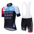 Ensemble cuissard vélo et maillot cyclisme équipe pro HAGENS BERMAN 2019 Aero Mesh