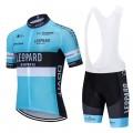 Ensemble cuissard vélo et maillot cyclisme équipe pro LEOPARD Racing 2020 Aero Mesh