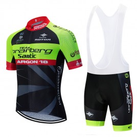 Ensemble cuissard vélo et maillot cyclisme équipe pro VORARLBERG 2019 Aero Mesh