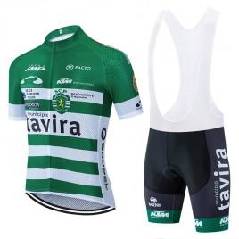 Ensemble cuissard vélo et maillot cyclisme pro TAVIRA 2020 Aero Mesh