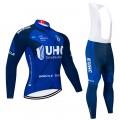 Ensemble cuissard vélo et maillot cyclisme hiver pro UHC 2020