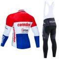 Ensemble cuissard vélo et maillot cyclisme hiver pro CORENDON CIRCUS 2020 LE