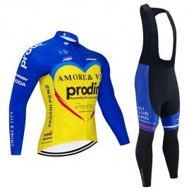 Ensemble cuissard vélo et maillot cyclisme hiver pro AMORE & VITA – PRODIR 2020 SE