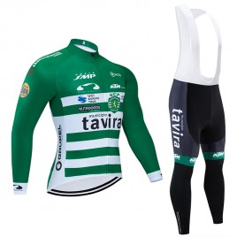Ensemble cuissard vélo et maillot cyclisme hiver pro TAVIRA 2020
