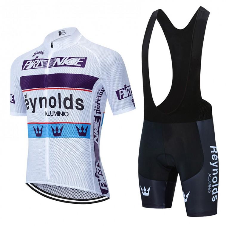 Ensemble cuissard vélo et maillot cyclisme pro vintage REYNOLDS Aero Mesh