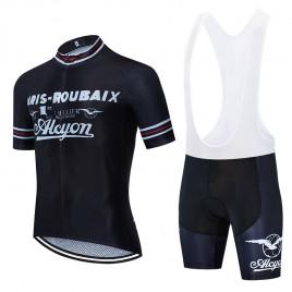 Ensemble cuissard vélo et maillot cyclisme pro vintage PARIS ROUBAIX ALCYON Aero Mesh