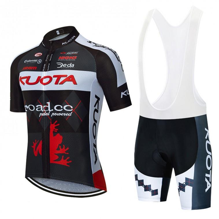 Ensemble cuissard vélo et maillot cyclisme pro KUOTA ROAD Aero Mesh