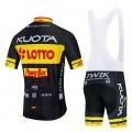 Ensemble cuissard vélo et maillot cyclisme pro KUOTA LOTTO Aero Mesh