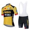 Ensemble cuissard vélo et maillot cyclisme équipe pro JUMBO Visma 2020 Aero Mesh