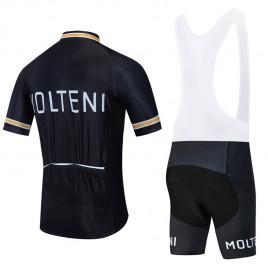 Ensemble cuissard vélo et maillot cyclisme pro vintage MOLTENI Aero Mesh