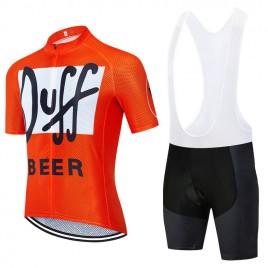Ensemble cuissard vélo et maillot cyclisme pro vintage DUFF Aero Mesh