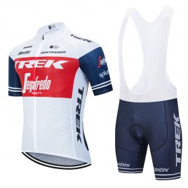 Ensemble cuissard vélo et maillot cyclisme équipe pro TREK Segafredo 2020 Aero Mesh
