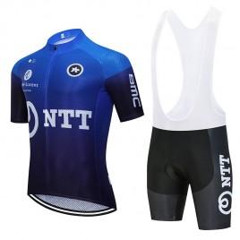 Ensemble cuissard vélo et maillot cyclisme équipe pro NTT 2020 Aero Mesh