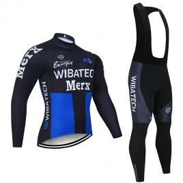 Ensemble cuissard vélo et maillot cyclisme hiver pro WIBATECH MERX 2019