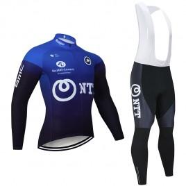 Ensemble cuissard vélo et maillot cyclisme hiver pro NTT 2020
