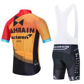 Ensemble cuissard vélo et maillot cyclisme équipe pro BAHRAIN Merida 2020 Aero Mesh