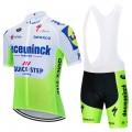 Ensemble cuissard vélo et maillot cyclisme équipe pro DECEUNINCK QUICK STEP 2020 Aero Mesh Fluo