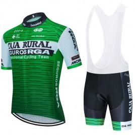 Ensemble cuissard vélo et maillot cyclisme équipe pro CAJA RURAL Seguros RGA 2020 Aero Mesh