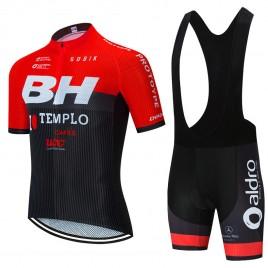 Ensemble cuissard vélo et maillot cyclisme équipe pro BH Templo Cafés UCC 2020 Aero Mesh