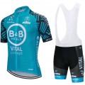 Ensemble cuissard vélo et maillot cyclisme équipe pro Vital Concept - B&B Hotels 2020 Aero Mesh