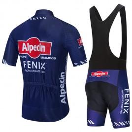 Ensemble cuissard vélo et maillot cyclisme équipe pro ALPECIN FENIX 2020 Aero Mesh