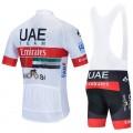 Ensemble cuissard vélo et maillot cyclisme équipe pro UAE Emirates 2020 Aero Mesh