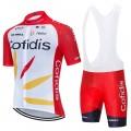 Ensemble cuissard vélo et maillot cyclisme équipe pro COFIDIS 2020 Aero Mesh