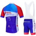 Ensemble cuissard vélo et maillot cyclisme équipe pro TOTAL Direct Energie 2020 Aero Mesh