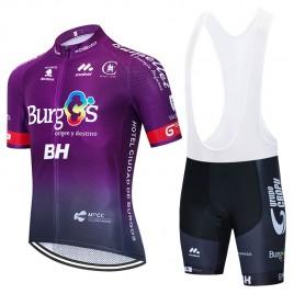 Ensemble cuissard vélo et maillot cyclisme équipe pro BURGOS BH 2020 Aero Mesh