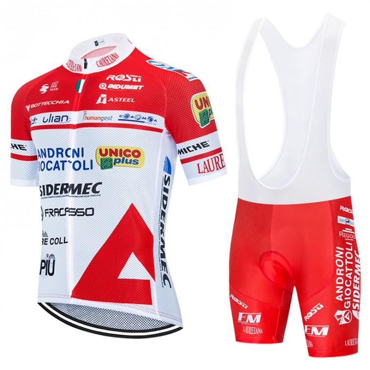 Ensemble cuissard vélo et maillot cyclisme équipe pro Androni Giocattoli 2020 Aero Mesh