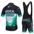 Ensemble cuissard vélo et maillot cyclisme équipe pro BORA Hansgrohe 2020 Aero Mesh
