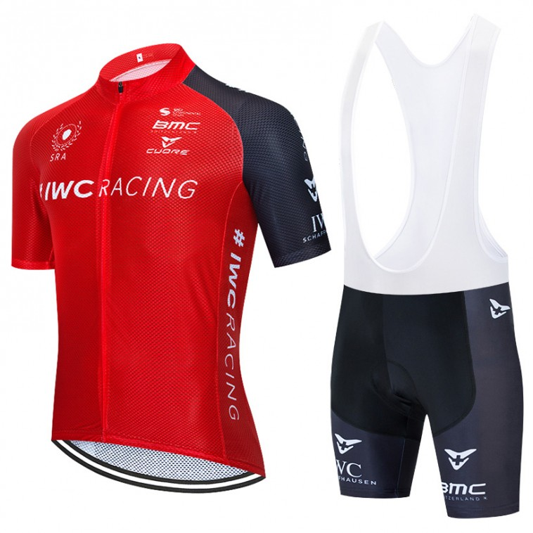Ensemble cuissard vélo et maillot cyclisme équipe pro Swiss Racing Academy 2020 Aero Mesh
