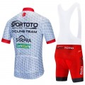 Ensemble cuissard vélo et maillot cyclisme équipe pro SPOR TOTO 2020 Aero Mesh