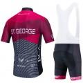 Ensemble cuissard vélo et maillot cyclisme équipe pro St George Continental Aero Mesh