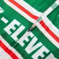 Ensemble cuissard vélo et maillot cyclisme pro vintage 7-ELEVEN Aero Mesh