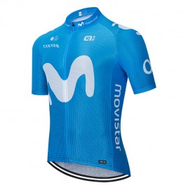 Maillot vélo équipe pro MOVISTAR 2020 Aero Mesh