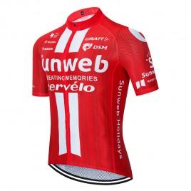Maillot vélo équipe pro SUNWEB 2020 Aero Mesh