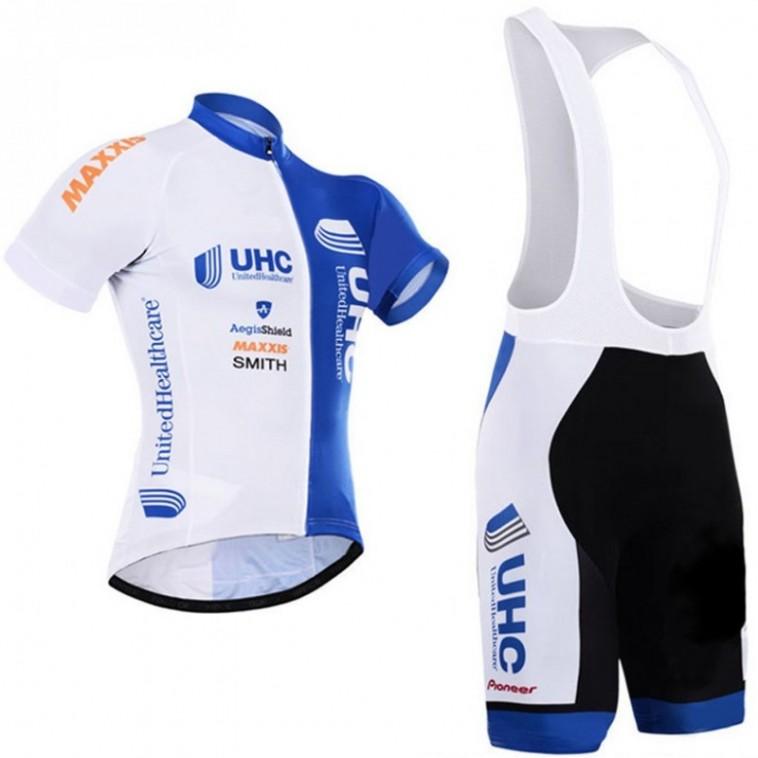 Ensemble cuissard vélo et maillot cyclisme équipe pro UHC United Healthcare