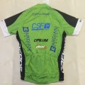 Ensemble cuissard vélo et maillot cyclisme équipe pro Bardiani CSF