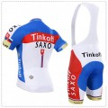 Ensemble cuissard vélo et maillot cyclisme équipe pro Tinkoff Saxo