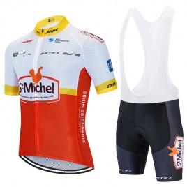 Ensemble cuissard vélo et maillot cyclisme pro SAINT MICHEL-Auber 93 Aero Mesh