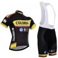 Ensemble cuissard vélo et maillot cyclisme équipe pro Colombia