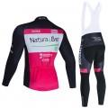 Ensemble cuissard vélo et maillot cyclisme hiver pro NATURA 4 EVER 2020