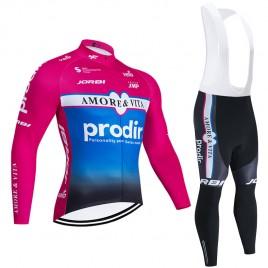 Ensemble cuissard vélo et maillot cyclisme hiver pro AMORE & VITA – PRODIR 2020 BP