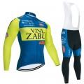 Ensemble cuissard vélo et maillot cyclisme hiver pro VINI ZABU KTM 2020