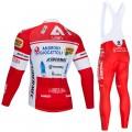 Ensemble cuissard vélo et maillot cyclisme hiver pro Androni Giocattoli 2020