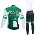 Ensemble cuissard vélo et maillot cyclisme hiver pro CAJA RURAL Seguros RGA 2020